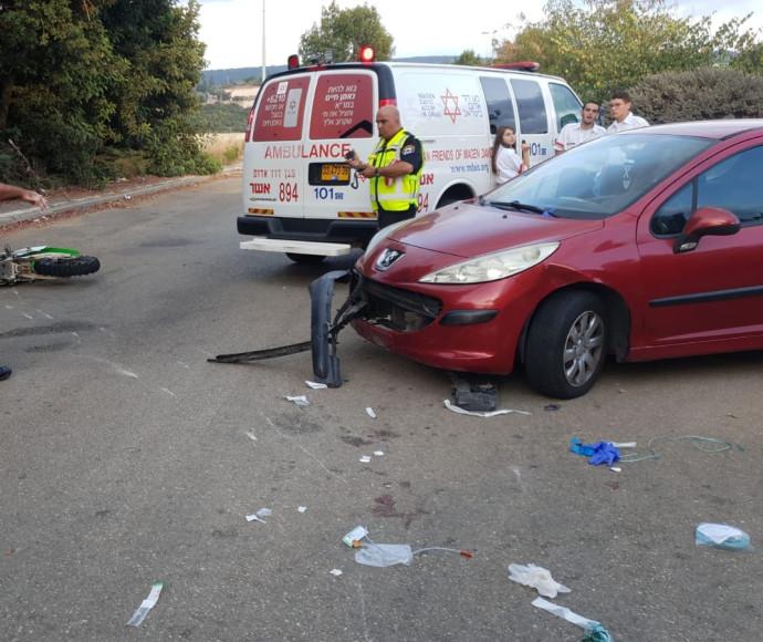 תאונת דרכים במושב גורן