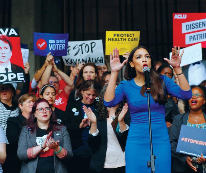 הפגנה נגד ברט קוואנו