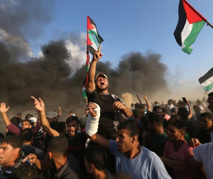 ההפגנות על גבול ישראל-עזה