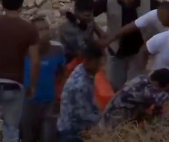 מאמצי חילוץ הילדים בצד הירדני של ים המלח