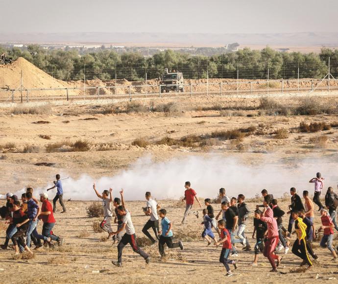 עימותים בגבול רצועת עזה