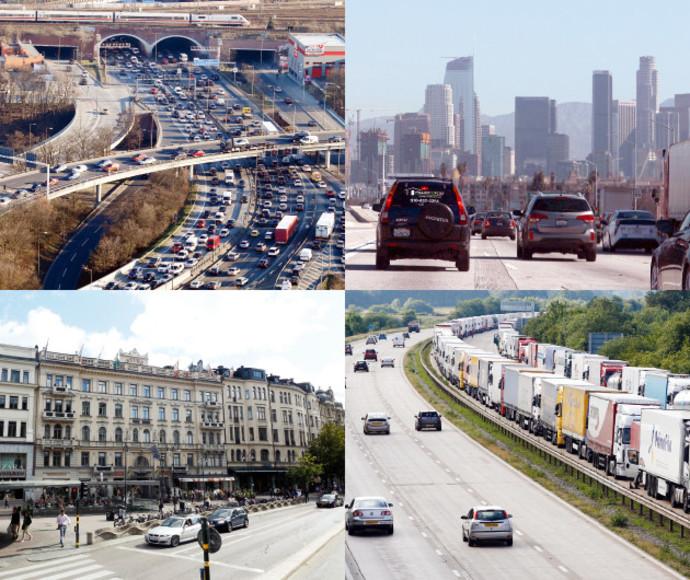 כבישים בעולם