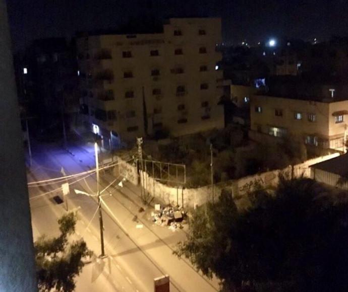 תקיפת נכס טרור ייעודי נוסף של ארגון הטרור חמאס בשכונת אלפרקאן