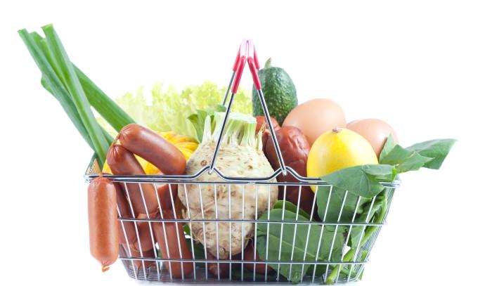ירקות, סל קניות בריא