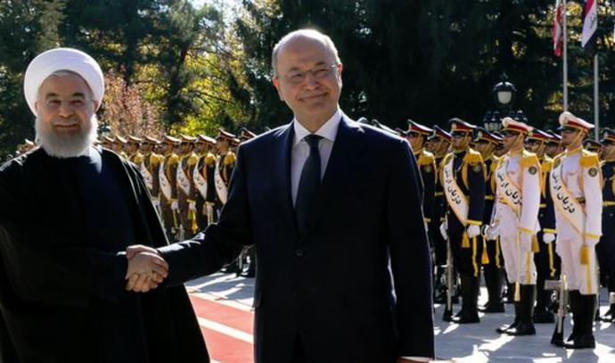נשיא איראן ונשיא עיראק