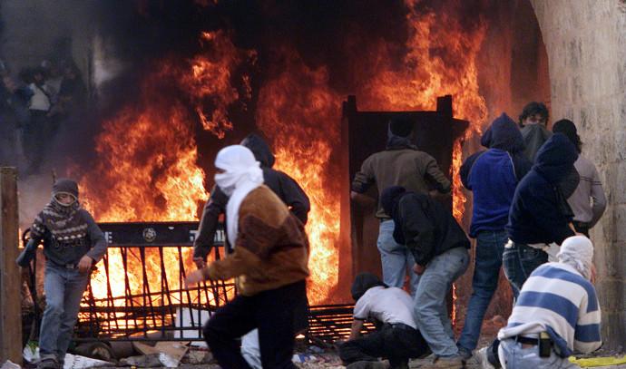 מהומות באינתיפאדה השנייה