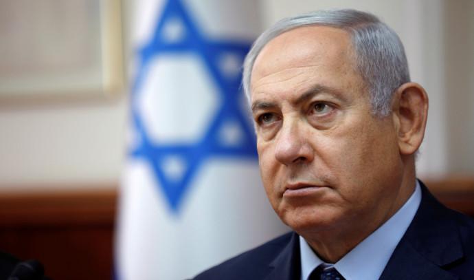 """""""מצהיר על נובמבר, מכוון למאי"""". ראש הממשלה בנימין נתניהו, צילום: מרק ישראל סלם"""