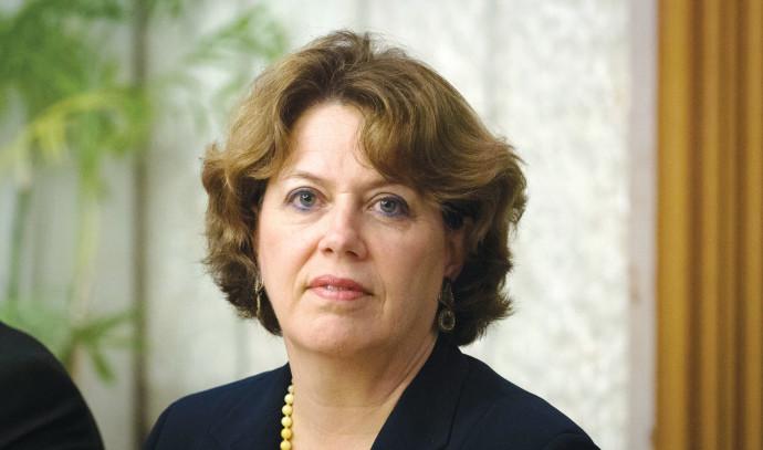 נדין טרכטנברג המשנה לנגידת בנק ישראל