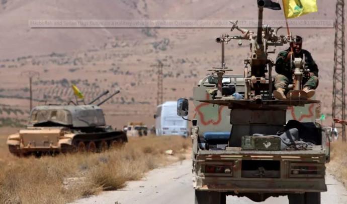 לוחמי חיזבאללה בסוריה
