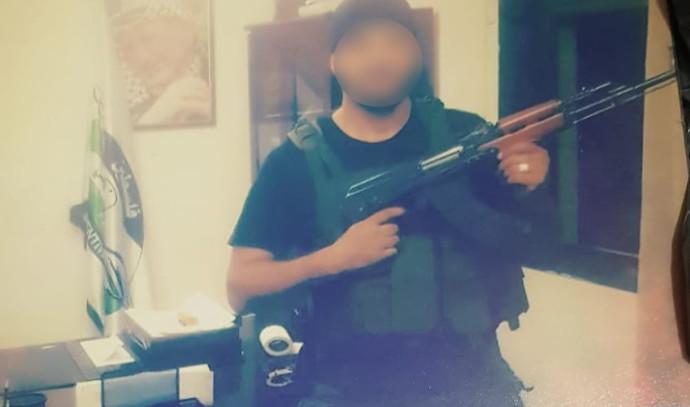 ציוד המתגייסים למנגנוני הביטחון הפלסטינים