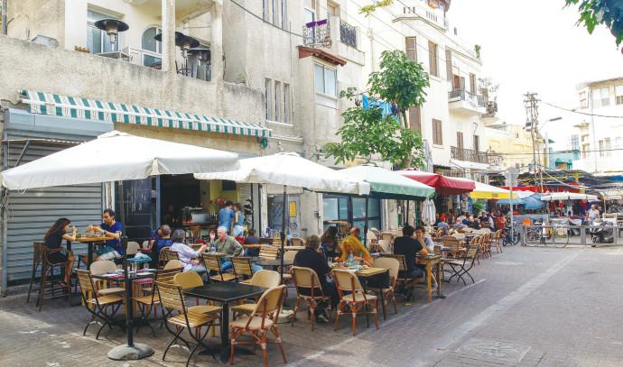 בתי קפה בתל אביב