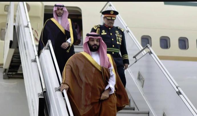 מוחמד בן סלמאן מגיע ל-G20
