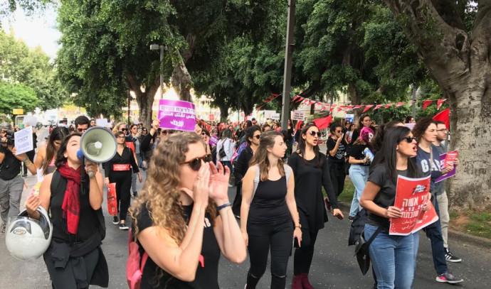 מחאת הנשים בתל אביב