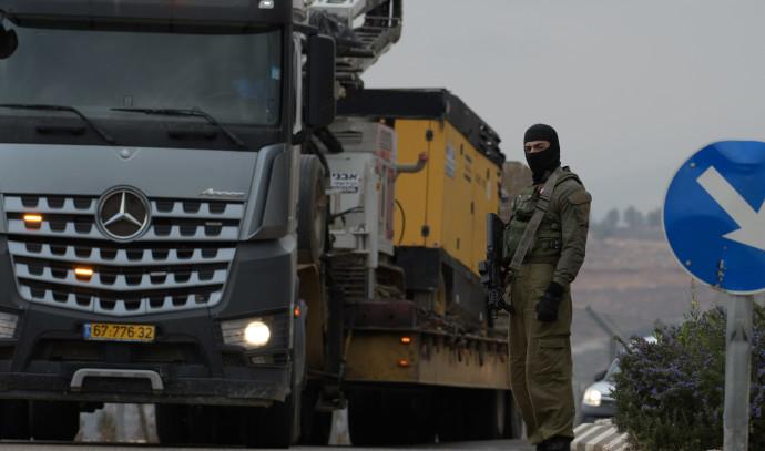 """חייל צה""""ל סמוך לגבול לבנון, מבצע """"מגן צפוני"""""""