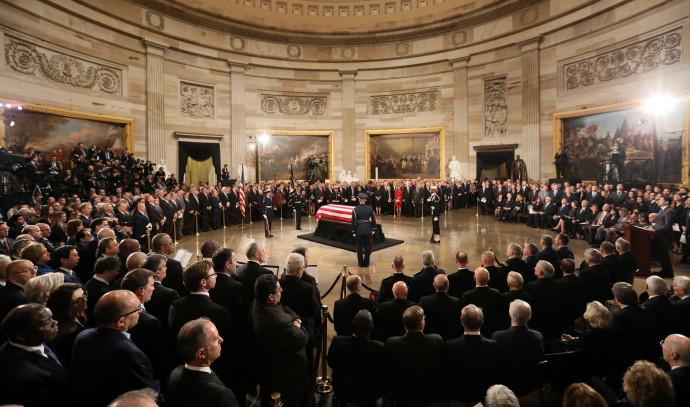 הלווייתו של ג'ורג' בוש האב בוושינגטון