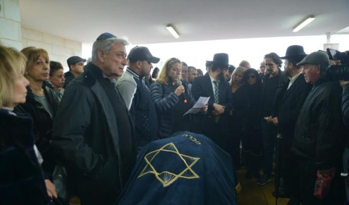 הלוויתו של שמואל פלאטו שרון