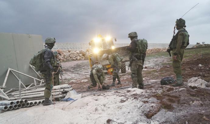 פעילות לחשיפת מנהרות בגבול הצפון