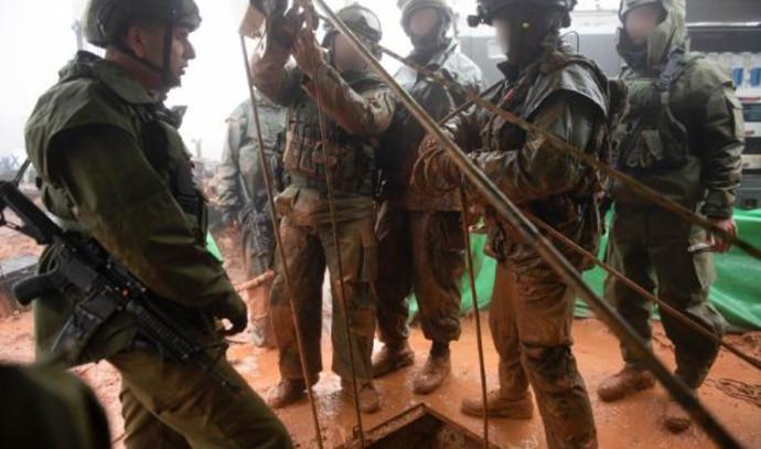 """מפעילות כוחות צה""""ל במסגרת מבצע """"מגן צפוני"""""""