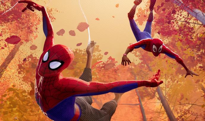 """""""ספיידרמן: ממד העכביש"""""""