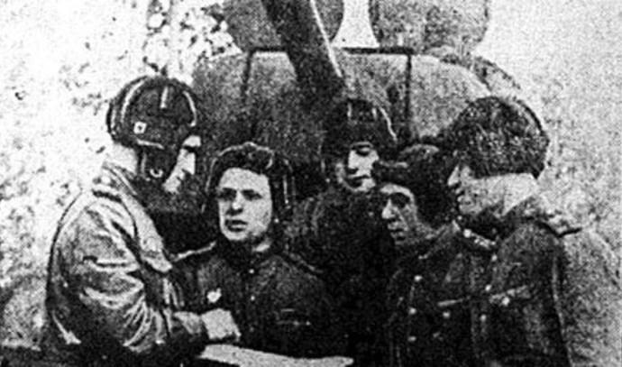חיילים יהודים בחטיבת השריון ה־23 של צבר ברית המועצות