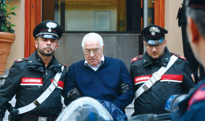 מעצרו של סטימיו מינאו