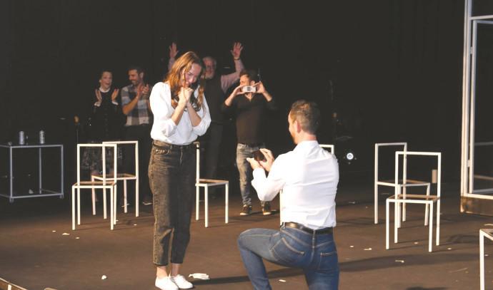 הצעת נישואים בתיאטרון