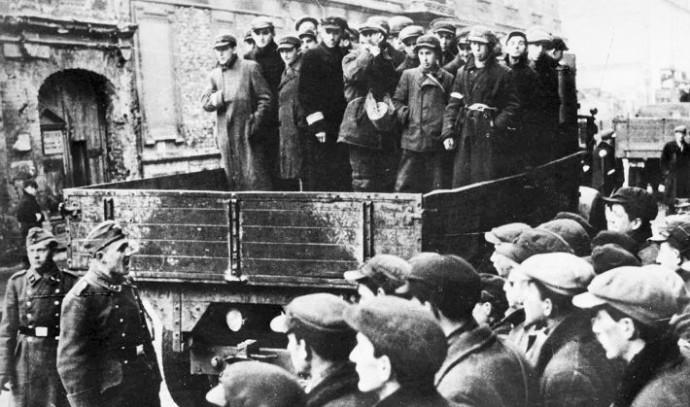 גטו ורשה במהלך המלחמה