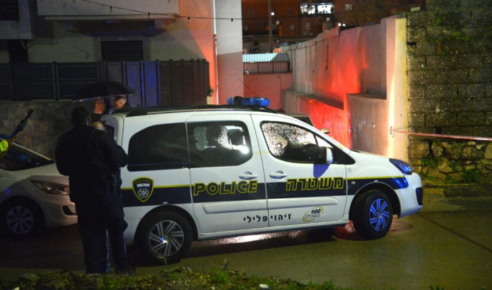 ניידת משטרה ברמלה