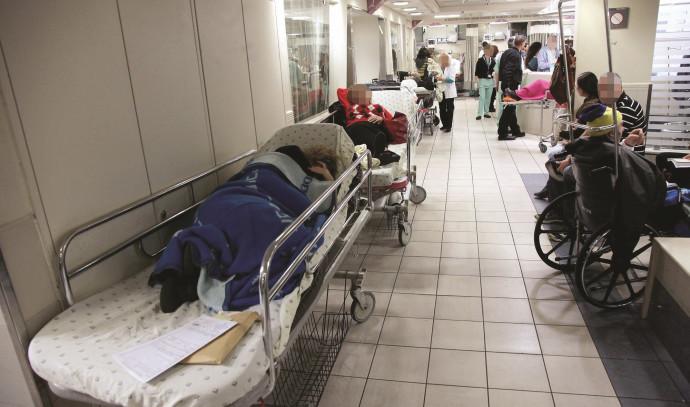 עומס בבית חולים