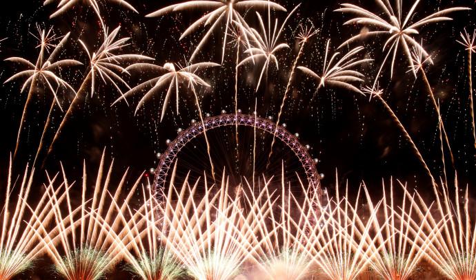 ערב השנה החדשה בלונדון