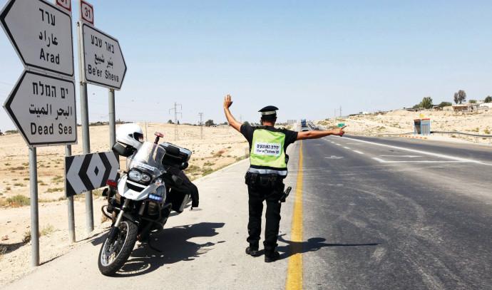משטרה, אכיפה בכבישים