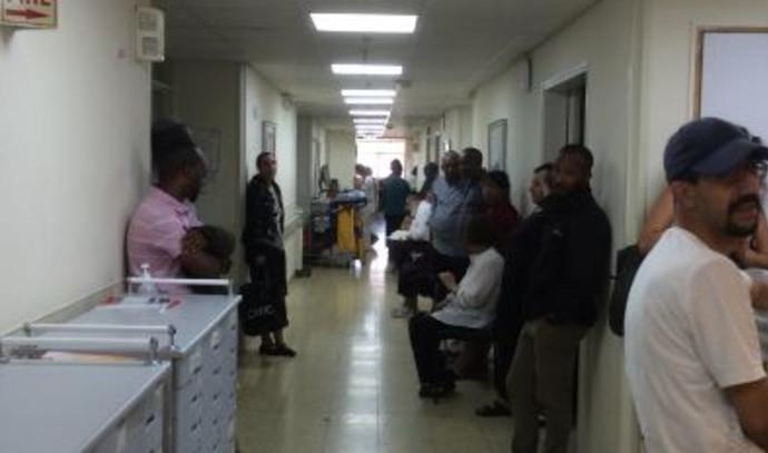 מחלקה פנימית בבית חולים בארץ