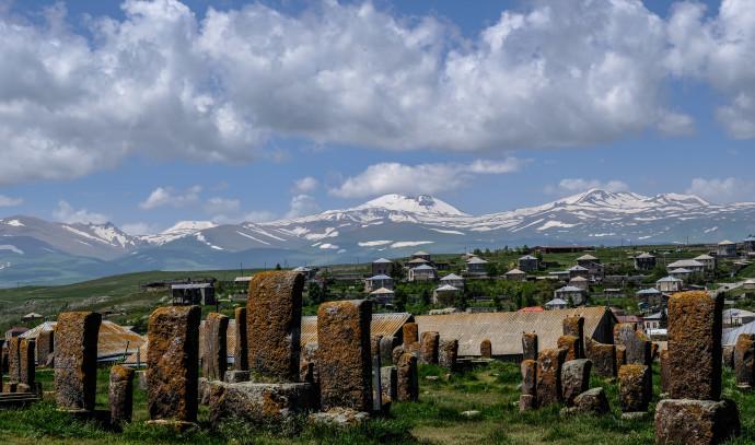 בית הקברות הציורי בנורטוס, ליד אגם סוואן