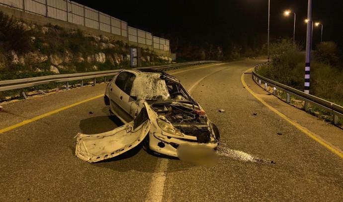תאונת דרכים סמוך לדיר אל אסד