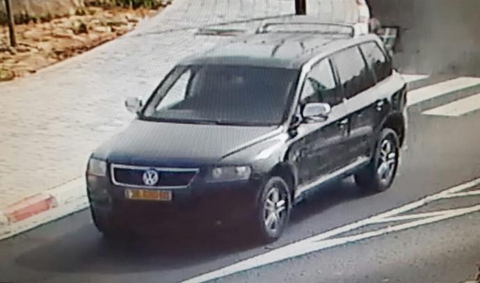 הרכב בו חטפו החשודים את הנער