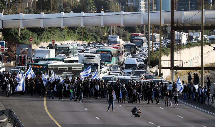 הפגנת יוצאי אתיופיה בתל אביב