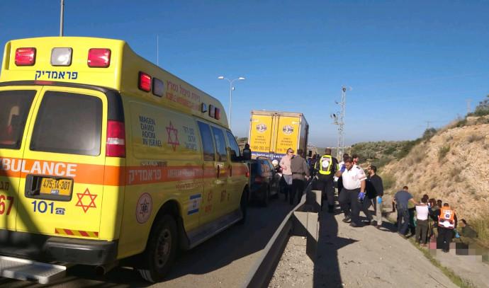 תאונת הדרכים בכביש 5