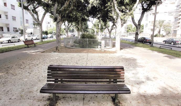 ספסל ריק