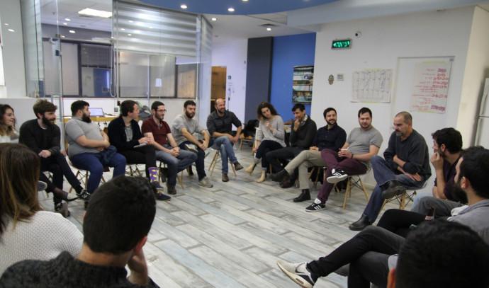 מפגש פעילי העבודה ומרצ