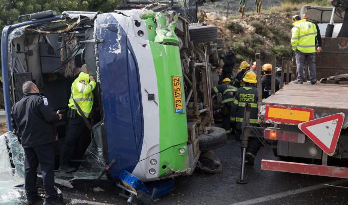 תאונת דרכים בכביש 443