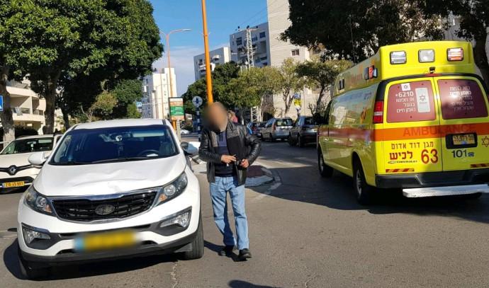 תאונת הדרכים בה נהרגה קשישה בת 75 באשדוד