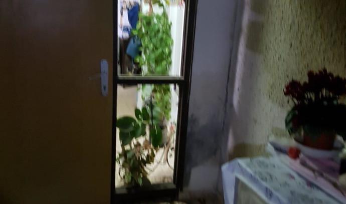 הבית באשכול שנפגע מבלון נפץ