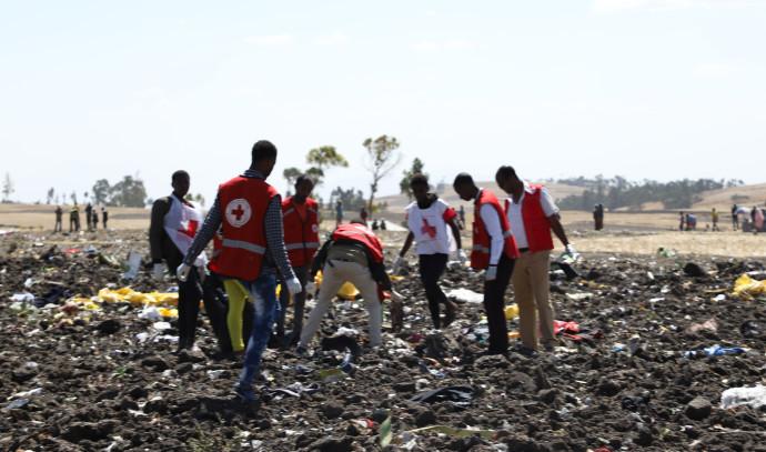 התרסקות המטוס באתיופיה