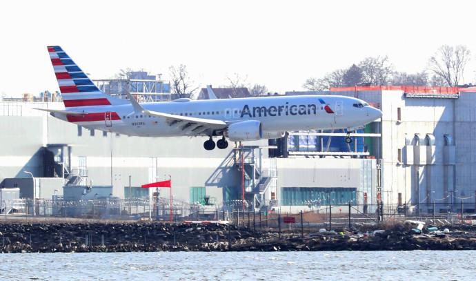 """מטוס בואינג 737 מקס 8 בארה""""ב"""