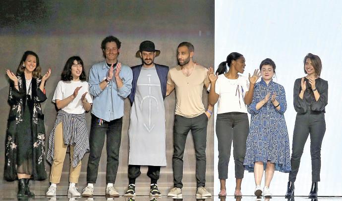 תצוגת אופנה של צעירי חממת מפעל הפיס