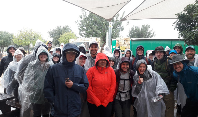 תיירים אמרקאים בארבל