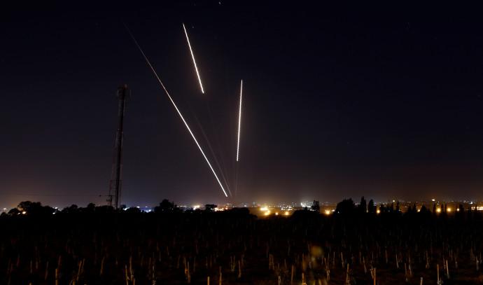 רקטות משוגרות מהרצועה לשטח ישראל