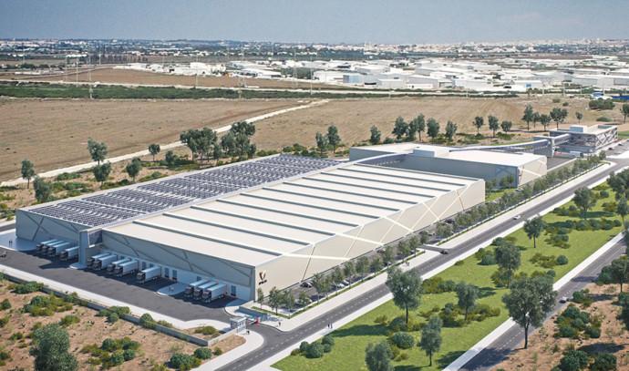 צילום הדמיה של אחד המפעלים החדשים של רב־בריח בישראל
