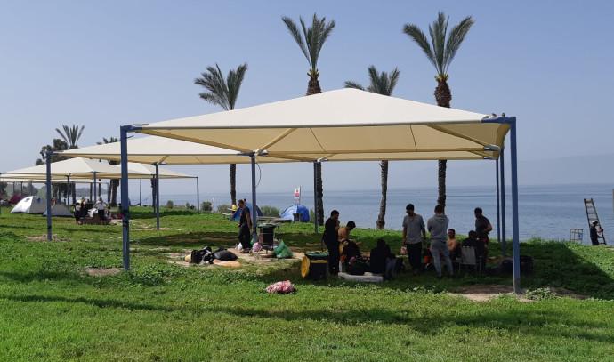 חוף לבנון בכנרת