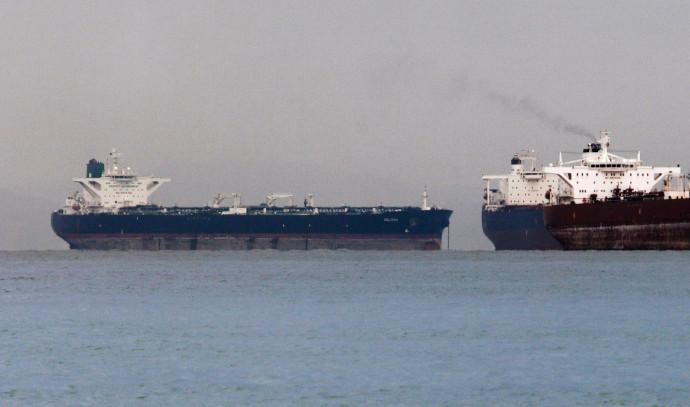 מכלית נפט במפרץ הפרסי